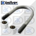 Clamp leaf spring Mercedes Sprinter Volkswagen Crafter LT